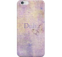 Silly Word 1 iPhone Case/Skin