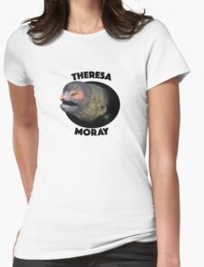 Theresa Moray Eel Womens Fitted T-Shirt