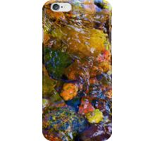 """River Rock Abstract 11"" iPhone Case/Skin"