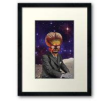 Funny brains Framed Print
