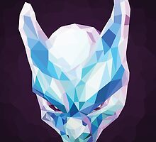 Mewtwo Polygonal by abowersock