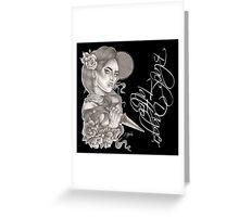 Lady Dagger Greeting Card