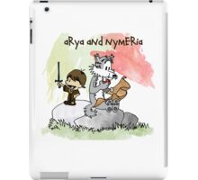 Arya and Nymeria iPad Case/Skin