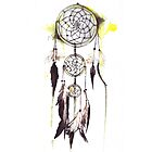 Watercolor Dream catcher by ancapora