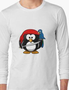 Penguin and Bird !  Long Sleeve T-Shirt