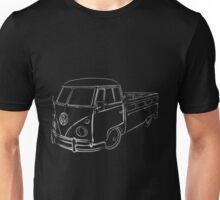 Procreate VW Bus Full White Unisex T-Shirt