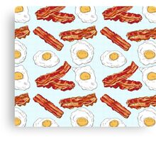 Eggs&Bacon Canvas Print
