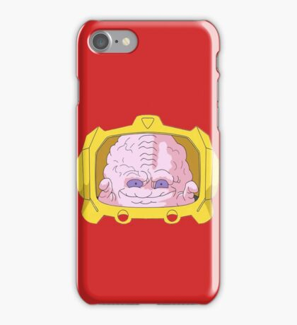 evil brain iPhone Case/Skin