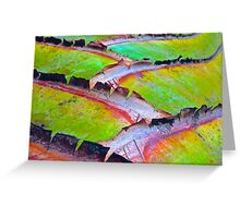 """""""Palm Abstract Detail"""" Greeting Card"""