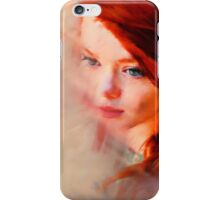 Red Oil Paints iPhone Case/Skin