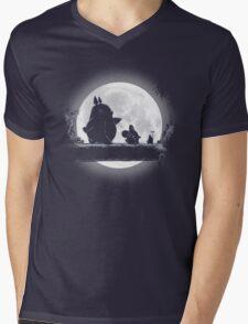 Hakuna Totoro Mens V-Neck T-Shirt