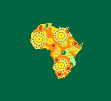 African Womens Fitted T-Shirt