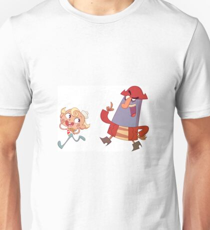Flapjack & Captain K'nuckles Unisex T-Shirt