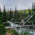 Bridge over Lindeman Creek by Yukondick