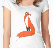 Foxy fox Women's Fitted Scoop T-Shirt