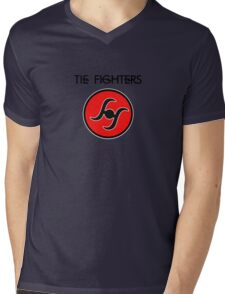 T. Fighters Mens V-Neck T-Shirt