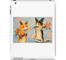 Welsh Pembroke Corgi~Dog~Cardigan~Happy~Win~LOVE iPad Case/Skin