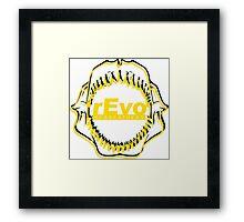 rEvo Jaws Framed Print