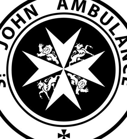 St. John Ambulance - Doctor Who Sticker