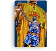 King James! Canvas Print