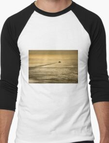 Sail Away Men's Baseball ¾ T-Shirt