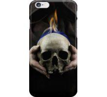 Burning skull iPhone Case/Skin