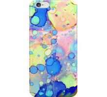 Pink and Blue Abstract iPhone Case/Skin