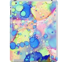 Pink and Blue Abstract iPad Case/Skin