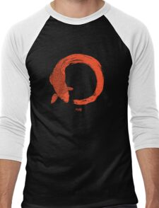 Enso the beauty of imperfection Men's Baseball ¾ T-Shirt