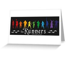 The Runners Greeting Card