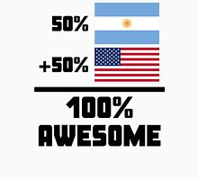 Awesome Argentinian American Unisex T-Shirt