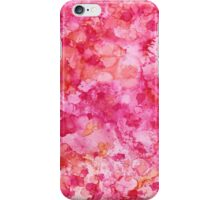 Pink and Orange Abstract iPhone Case/Skin