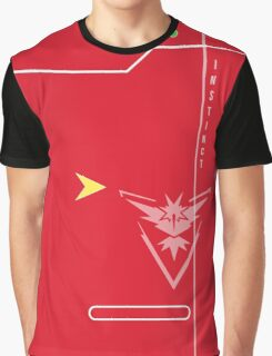 Team Instinct Pokedex Graphic T-Shirt
