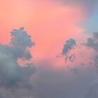 Pink Clouds Over Budapest by Paula Bielnicka