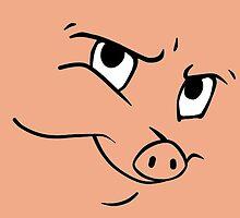 Smug Porky by essbeebee