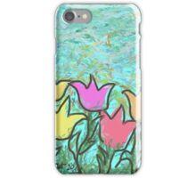 Happy Tulips iPhone Case/Skin