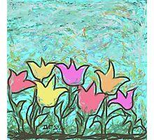 Happy Tulips Photographic Print