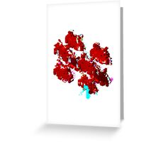 Corrupt Invaders Greeting Card