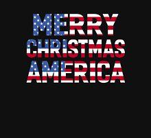 MERRY CHRISTMAS AMERICA Unisex T-Shirt