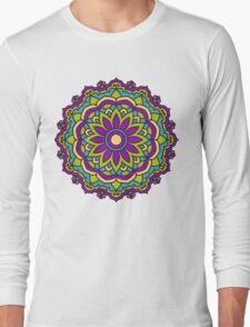 Mandala - Circle Ethnic Ornament Long Sleeve T-Shirt