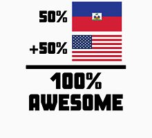 Awesome Haitian American Unisex T-Shirt