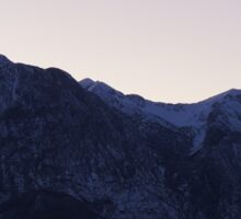 mountain landscape Sticker