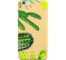 Cactus Party iPhone Case/Skin