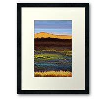 IPad Art - Winter Light Framed Print