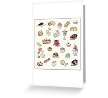 Cup Cakes & Bakery Greeting Card
