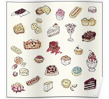 Cup Cakes & Bakery Poster