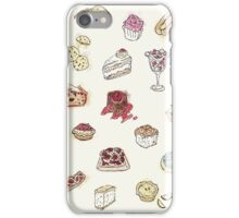 Cup Cakes & Bakery iPhone Case/Skin