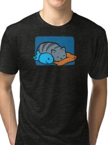 Sleeping With The Fishes Tri-blend T-Shirt