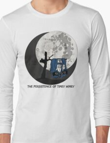 The Persistence of Timey Wimey Grunge Long Sleeve T-Shirt