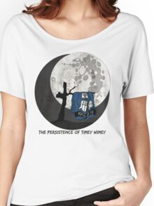The Persistence of Timey Wimey Grunge Women's Relaxed Fit T-Shirt